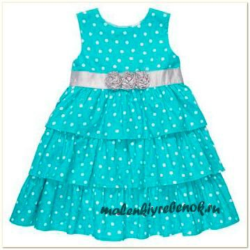 летнее платье для девочки выкройка простая