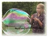 как делать большие мыльные пузыри