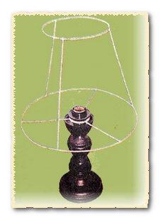 Каркас для абажура настольных ламп своими руками