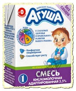 жидкая адаптированная молочная смесь