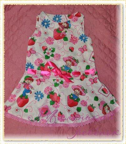 сшить девочке летнее платье