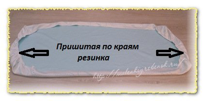 простынь на резинке своими руками мк