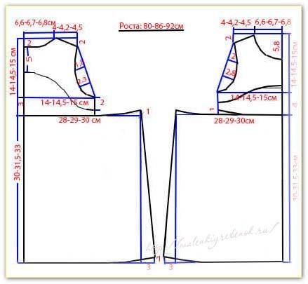 Сшить простую юбку на резинке без выкройки 14