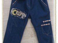 сшить детские джинсы